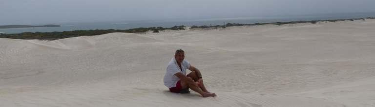 Lancelin Sand Dunes, Beacon Road, Lancelin, Australie-Occidentale