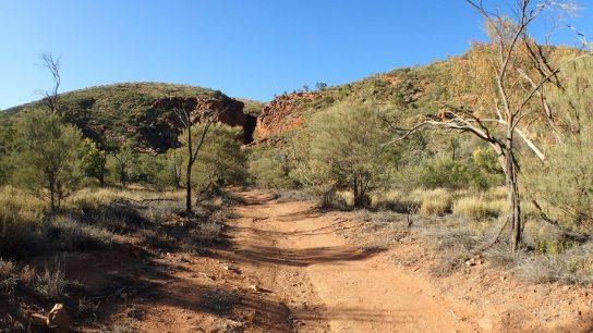 Serpentine Gorge, Namatjira, Territoire du Nord