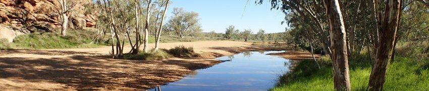 Alice Springs, les sources