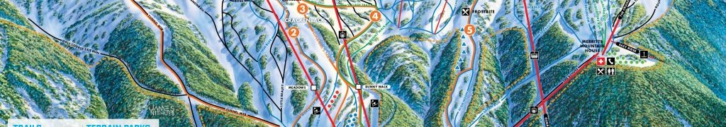 Ski en août