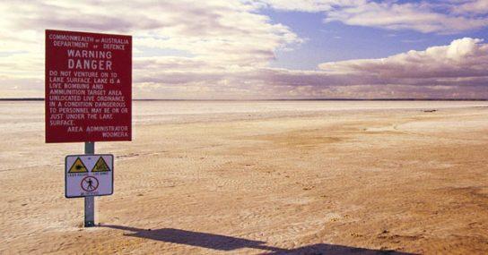Woomera: Nuclear danger zone