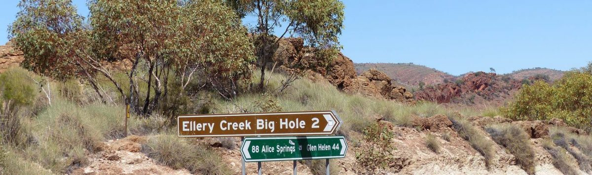Ellery Creek Big Hole, Namatjira, Northern Territory