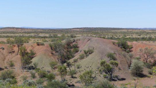 Henbury Meteorites Conservation Reserve, Ghan, NT